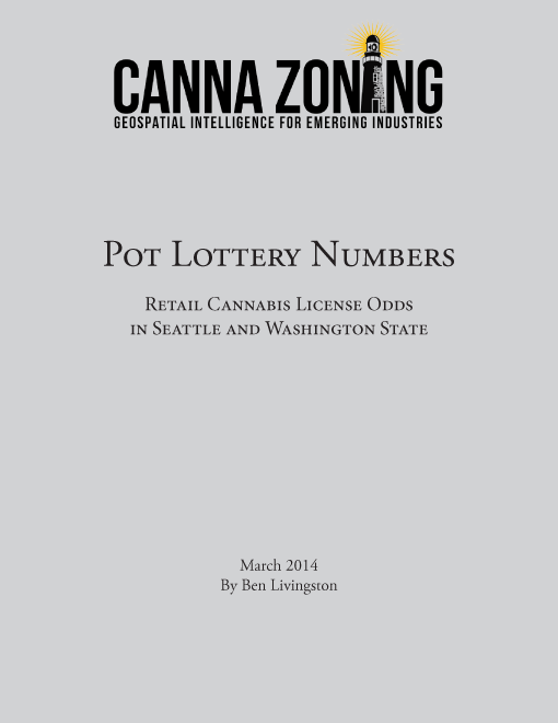 Pot Lottery Numbers: Retail Cannabis Licensing Odds in Seattle and King County